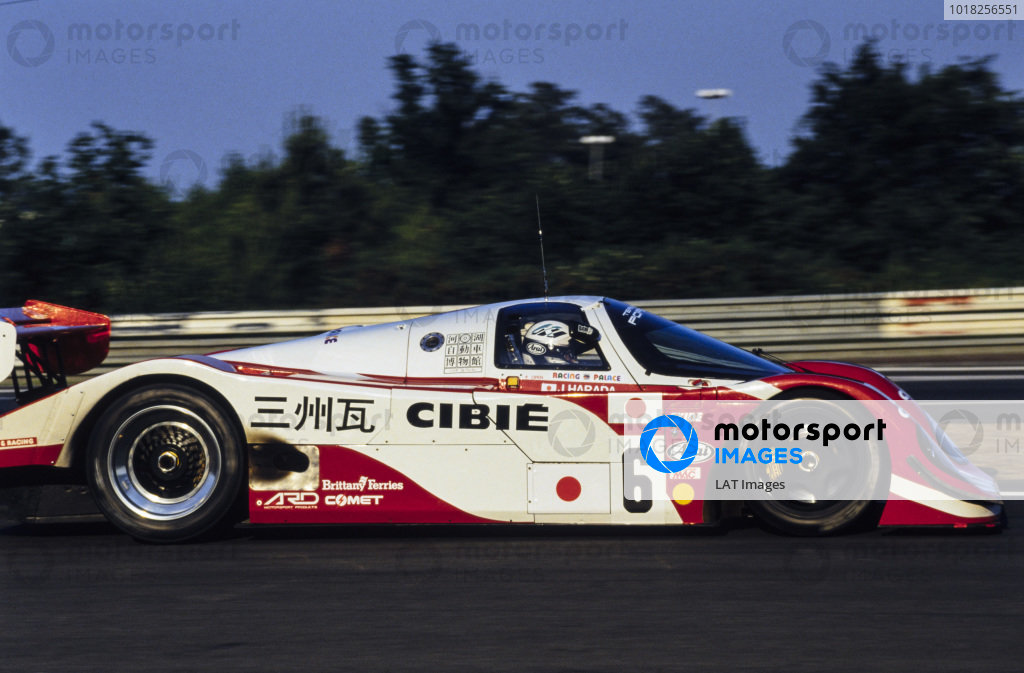 Jun Harada / Tomiko Yoshikawa / Masahiko Kondou, ADA Engineering Ltd / Team Nippon, Porsche 962 C GTi.