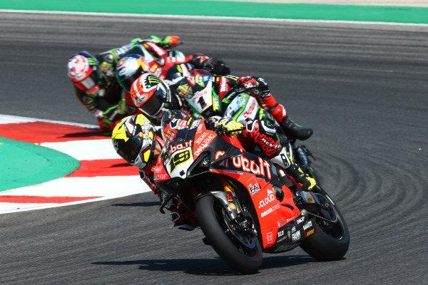 Alvaro Bautista, Aruba.it Racing-Ducati Team, Jonathan Rea, Kawasaki Racing Team.