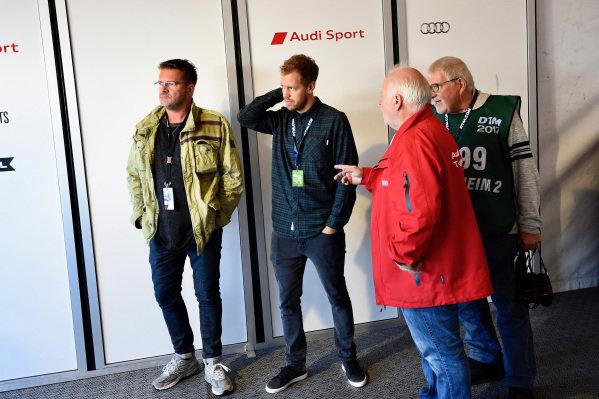 Sebastian Vettel (GER) with hisb Father Norbert Vettel (GER) at Audi Sport TT Cup, DTM Championship, Hockenheim, Germany, 14-15 October 2017.