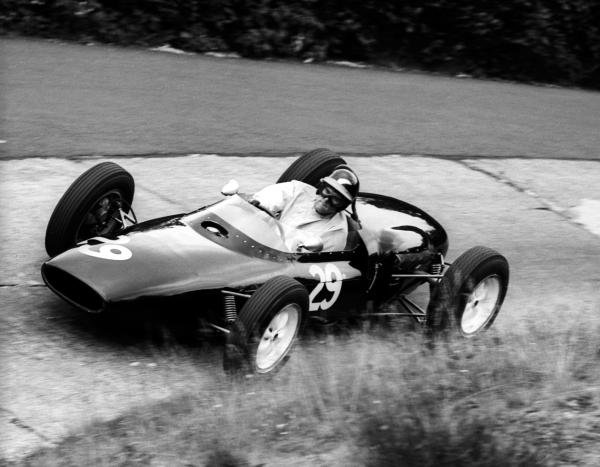 Tony Shelly (NZL) Lotus 18/21 failed to qualify.   German Grand Prix, Nurburgring, 5 August 1962.