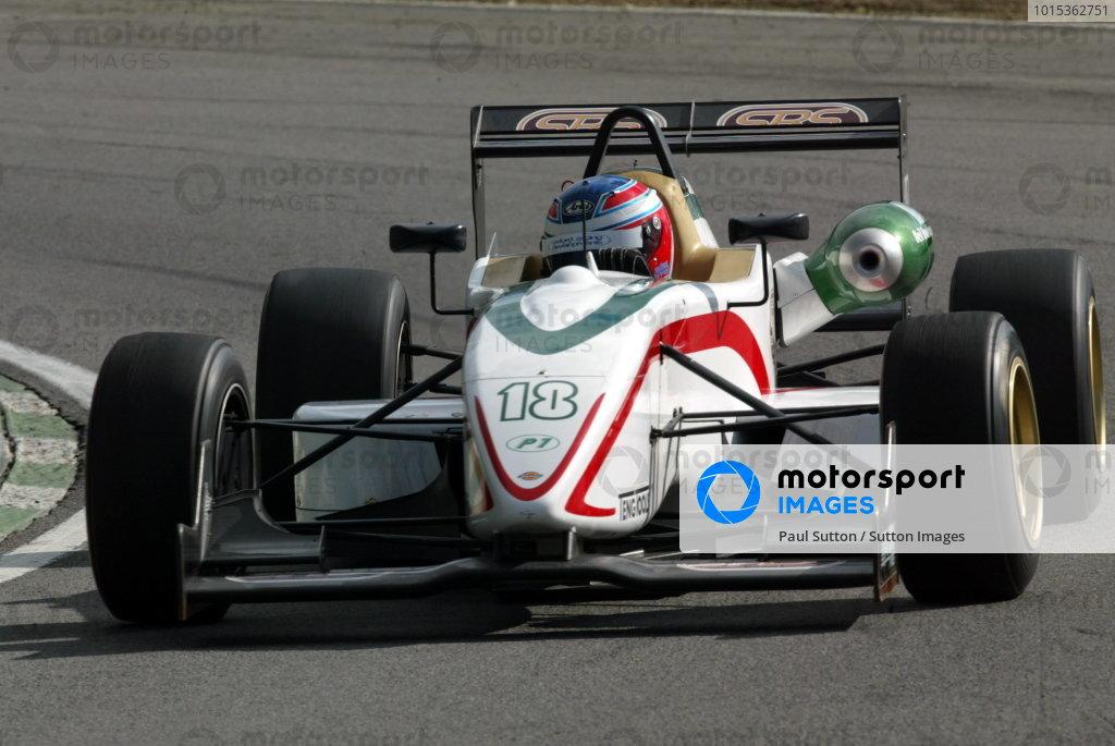 Adam Carroll (GB) P1 Motorsport.British Formula Three Championship, Press day.Brands Hatch, Kent, England. 24th March 2004Digital Image