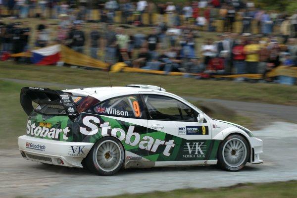 2006 FIA World Rally Champs. Round elevenDeutschland Rally.9th- 13th August 2006.Matthew Wilson, Ford, action.World Copyright: McKlein/LAT