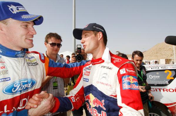 Round 04 Rally Jordan. 14th-16th April 2011.Sebastien Ogier, Citroen WRC, Portrait.Worldwide Copyright: McKlein/LAT