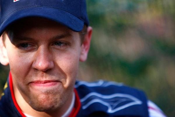 Shanghai International Circuit, Shanghai, China18th April 2009Sebastian Vettel, Red Bull Racing RB5 Renault. Portrait. World Copyright: Charles Coates/LAT Photographicref: Digital Image _26Y4039