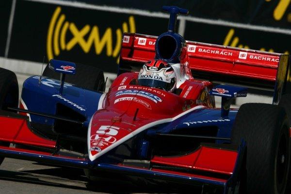 Sarah Fisher (USA), Dreyer & Reinbold Racing Dallara Honda.IRL IndyCar Series, Rd16, Detroit Indy Grand Prix, Raceway at Belle Isle, Detroit, MI, USA. 31 August - 2 September 2007.