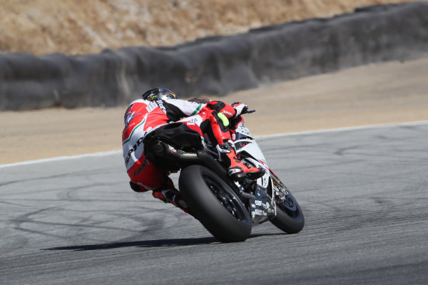 2017 Superbike World Championship - Round 8 Laguna Seca, USA. Friday 7 July 2017 Leon Camier, MV Agusta World Copyright: Gold and Goose/LAT Images ref: Digital Image 682984