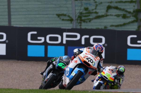 2017 Moto2 Championship - Round 9 Sachsenring, Germany Sunday 2 July 2017 Fabio Quartararo, Pons HP 40  World Copyright: David Goldman/LAT Images ref: Digital Image 34373