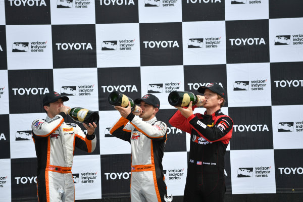2017 Pirelli World Challenge Toyota Grand Prix of Long Beach Streets of Long Beach, CA USA Sunday 9 April 2017 Alvaro Parente, Bryan Sellers, Patrick Long World Copyright: Richard Dole/LAT Images ref: Digital Image RD_LB17_496