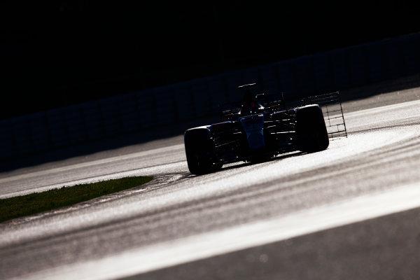 Circuit de Barcelona Catalunya, Barcelona, Spain. Tuesday 07 March 2017. Daniil Kvyat, Toro Roso STR12 Renault. World Copyright: Zak Mauger/LAT Images ref: Digital Image _X0W5848