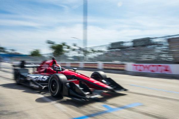 2017 Verizon IndyCar Series Toyota Grand Prix of Long Beach Streets of Long Beach, CA USA Friday 7 April 2017 Mikhail Aleshin World Copyright: Gavin Baker/LAT Images