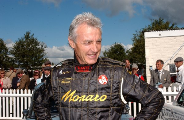 2005 Goodwood Revival Meeting Goodwood, West Sussex. 16th September 2005. Peter Brock. World Copyright: Jeff Bloxham/LAT Photographic Digital Image Only