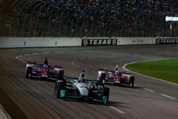 10-11 June, 2016, Fort Worth, Texas USA Simon Pagenaud, Takuma Sato, Jack Hawksworth ?2016, Phillip Abbott LAT Photo USA
