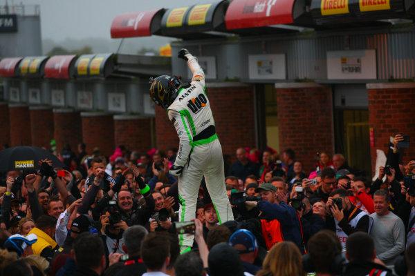 2017 British Touring Car Championship, Brands Hatch, Kent. 30th September - 1st October 2017, Rob Austin (GBR) Handy Motorsport Toyota Avensis World copyright. JEP/LAT Images