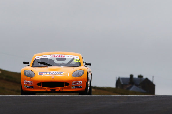 2017 Ginetta Junior Championship,  Knockhill, 12th-13th August 2017, Conor Grady Douglas Motorsport Ginetta Junior World copyright. JEP/LAT Images