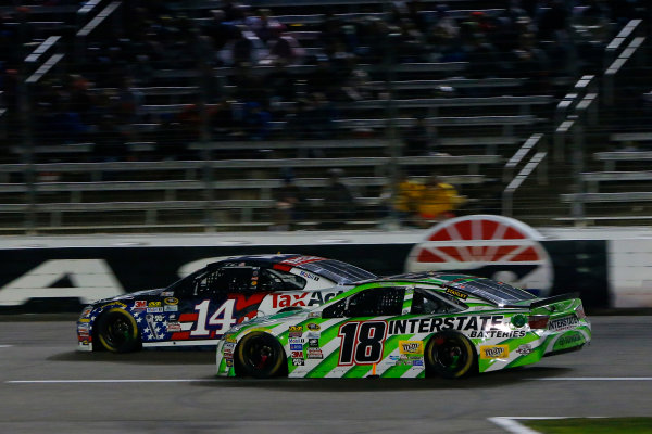 7-9 April, 2016, Fort Worth, Texas USA Kyle Busch, Interstate Batteries Toyota Camry and Brian Vickers ?2016, Russell LaBounty LAT Photo USA