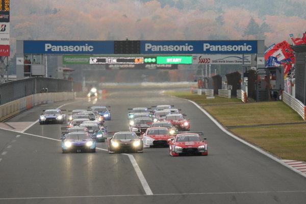 Super GT - DTM Dream Race. The start of race two