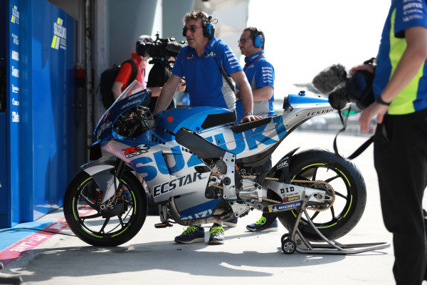 Team Suzuki MotoGP bike.