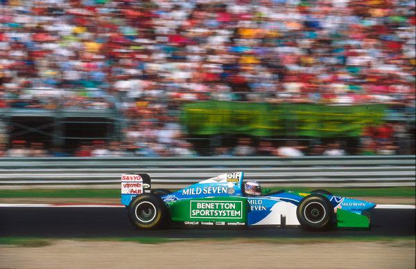 1994 Italian Grand Prix.Monza, Italy.9-11 September 1994.J J. Lehto (Benetton B194 Ford) 9th position.Ref-94 ITA 11.World Copyright - LAT Photographic