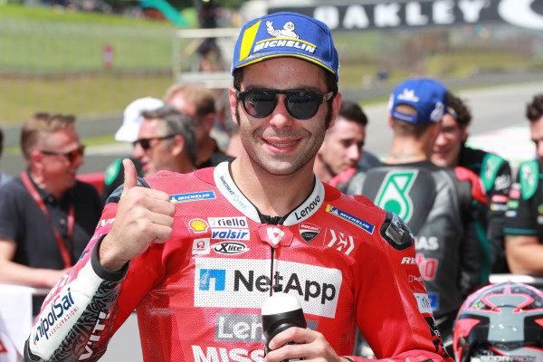 Third place Danilo Petrucci, Ducati Team.