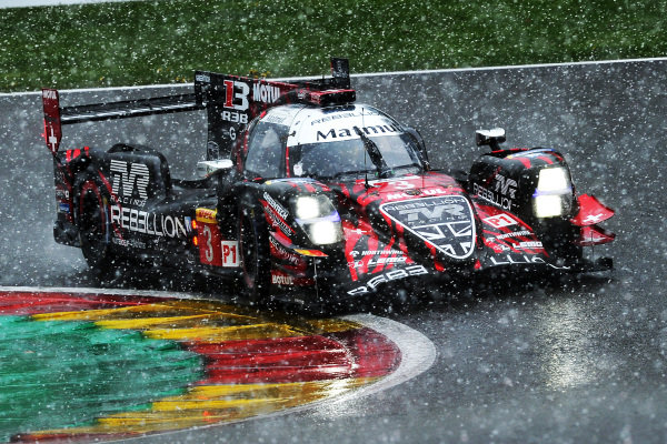 #3 Rebellion Racing Rebellion R-13 - Gibson: Nathanael Berthon, Thomas Laurent, Gustavo Menezes