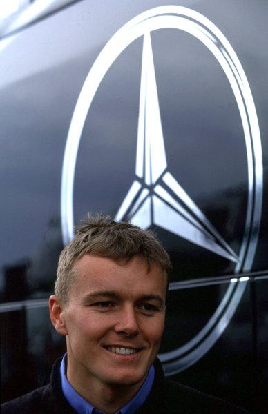 2001 DTM TestingHockenheim, Germany. 5th April 2001.AMG Mercedes-Benz CLK driver Marcel Fassler - portrait.World Copyright: Peter Spinney/LAT Photographic.