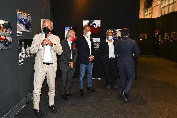 Ercole Colombo and Stefano Domenicali, Motorsport Images Exhibition at Villa Reale di Monza