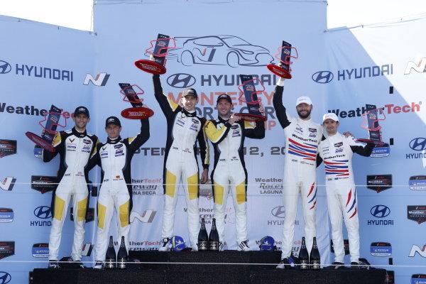 #4: Corvette Racing Corvette C8.R, GTLM: Tommy Milner, Nick Tandy, podium, winner, #3: Corvette Racing Corvette C8.R, GTLM: Antonio Garcia, Jordan Taylor, #79: WeatherTech Racing Porsche 911 RSR - 19, GTLM: Cooper MacNeil, Matt Campbell