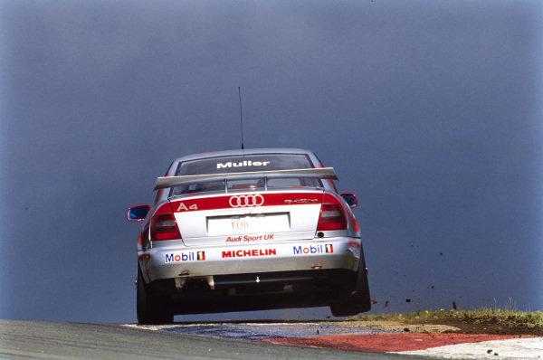 Yvan Muller, Audi Sport UK, Audi A4.