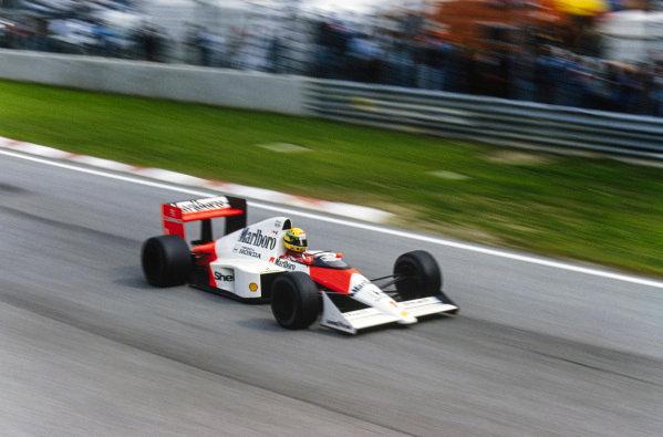 Ayrton Senna, McLaren MP4/5 Honda.