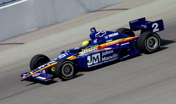 2003 IRL IndyCar Chicagoland Speedway, Chicago, Illinois 8/5-8/7/03 USARichie HearnWorld Copyright-Walt Kuhn 2003 LAT Photographicref: Digital Image Only
