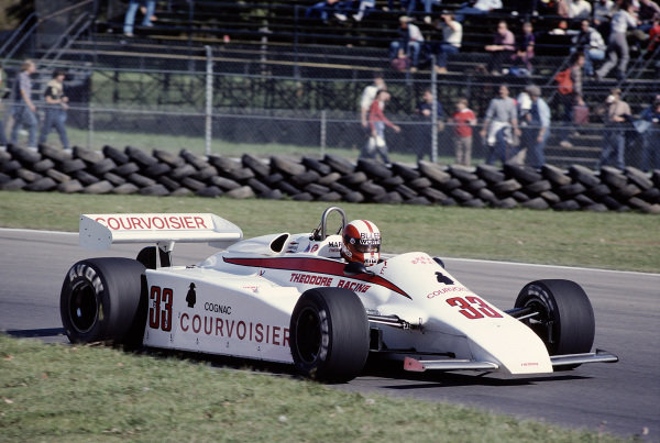 1981 Canadian Grand Prix.Montreal, Quebec, Canada.25-27 September 1981.Marc Surer (Theodore TY01 Ford) 9th position.Ref-81 CAN 34.World Copyright - LAT Photographic