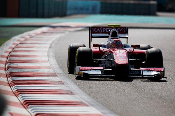 2017 FIA Formula 2 Round 11. Yas Marina Circuit, Abu Dhabi, United Arab Emirates. Friday 24 November 2017. Antonio Fuoco (ITA, PREMA Racing).  Photo: Sam Bloxham/FIA Formula 2. ref: Digital Image _W6I2104