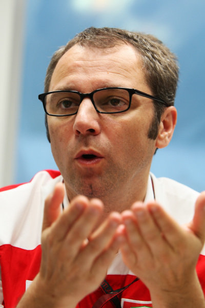 Stefano Domenicali (ITA) Ferrari General Director.
