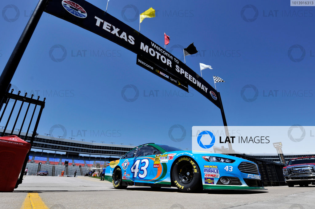 11-13 April, 2013, Fort Worth, Texas USA Aric Almirola ©2013, Nigel Kinrade LAT Photo USA