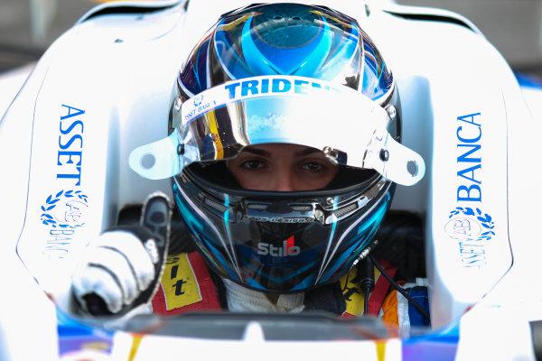 2013 GP3 Series. Round 1.  Circuit de Catalunya, Barcelona, Spain.  12th May Sunday Race 02 Emanuele Zonzini (  Portrait  World Copyright: Malcolm Griffiths/GP3 Media Service.  Ref: Digital ImageC76D5644.JPG