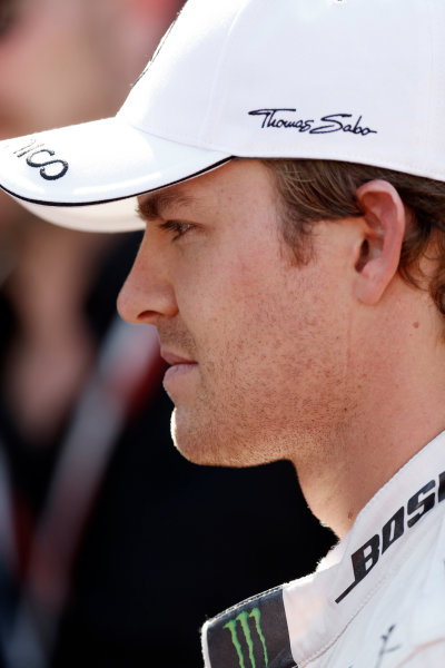 Spa-Francorchamps, Spa, Belgium. Saturday 22 August 2015. Nico Rosberg, Mercedes AMG. World Copyright: Alastair Staley/LAT Photographic ref: Digital Image _R6T5757