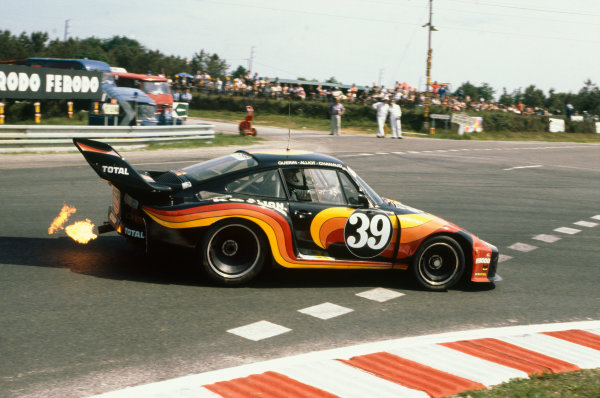 """Le Mans, France. 9th - 10th June 1979.Jacques Guerin/""""Chanaud""""/Frederic Alliot (Porsche 935), 15th position, action. World Copyright: LAT Photographic.Ref: 79LM12."""