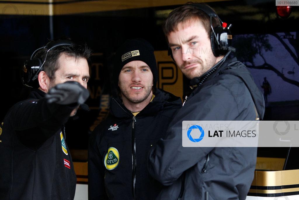 Albert Park, Melbourne, Australia 25th March 2011. Nick Heidfeld, Lotus Renault GP R31. Portrait.  World Copyright: Andrew Ferraro/LAT Photographic ref: Digital Image _Q0C7651