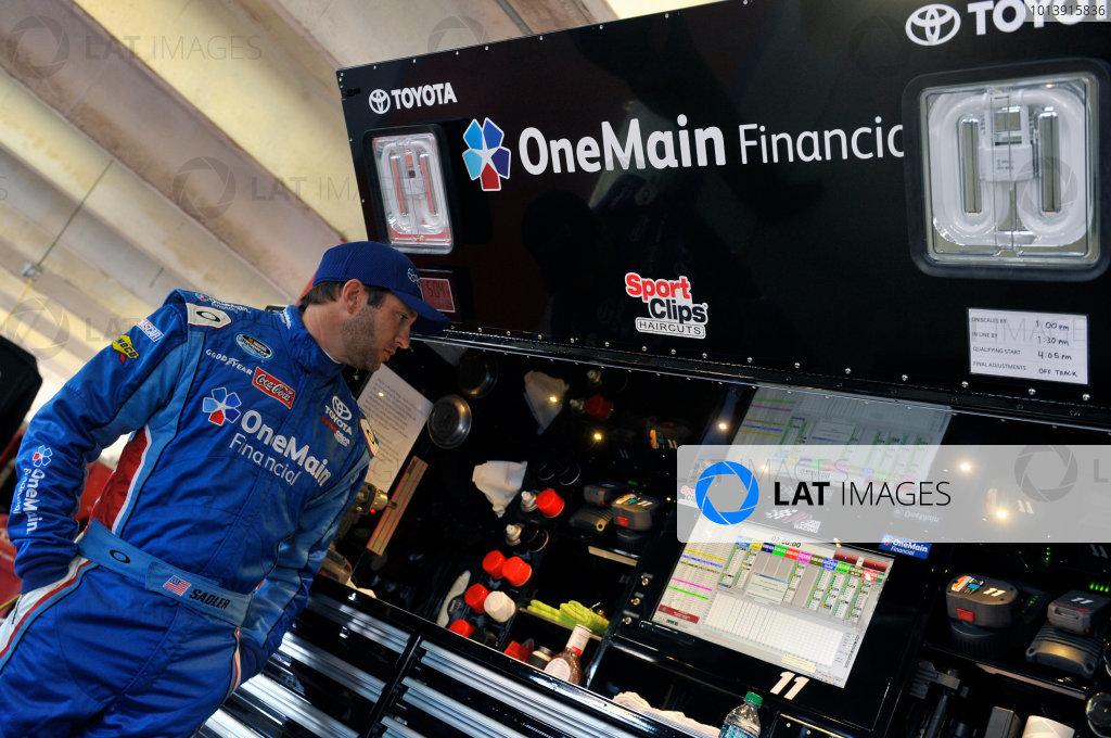11-12 April, 2013, Fort Worth, Texas USA Elliott Sadler, OneMain Financial Toyota Camry ©2013, Nigel Kinrade LAT Photo USA