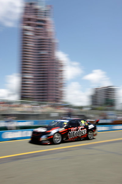 The Tekno Autosports Ford Falcon of Jonathon Webb and Gil de Ferran of Brazil during the Armor All Gold Coast 600, event 11 of the 2011 Australian V8 Supercar Championship Series at the Gold Coast Street Circuit, Gold Coast, Queensland, October 23, 2011.World Copyright: Mark Horsburgh/LAT Photographicref: 19-TEKNO-EV11-11-10188