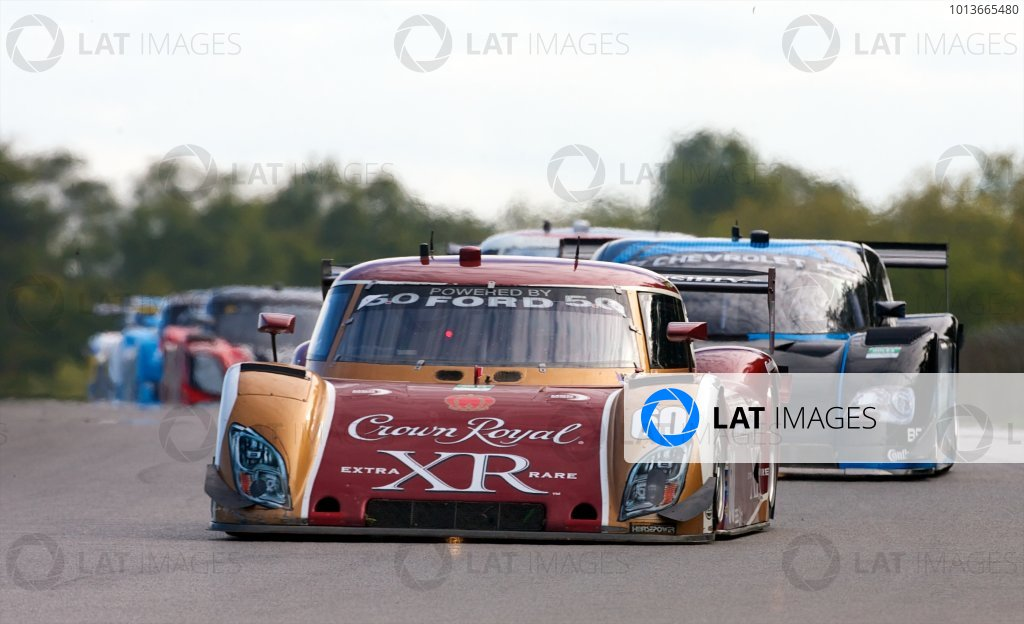 16-17 September, 2011, Lexington, Ohio USA The #60 Ford Riley of Oswaldo Negri and John Pew is shown in action. (c)2011, R.D. Ethan LAT Photo USA