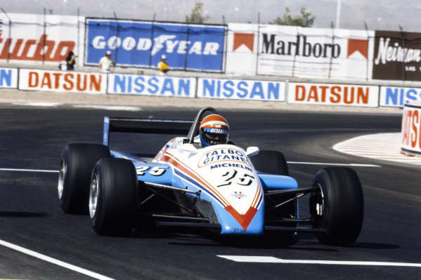 Eddie Cheever, Ligier JS19 Matra.