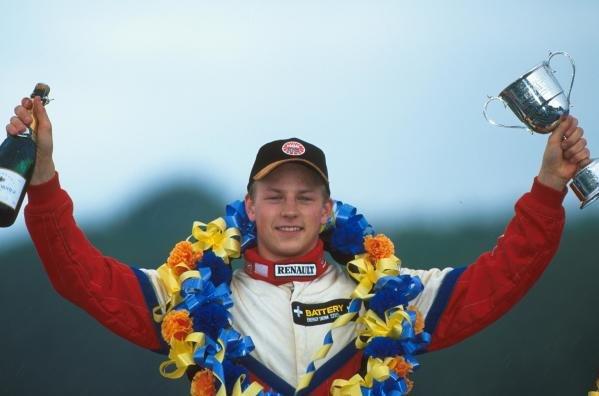 Kimi Raikkonen (FIN) British Formula Renault Championship 2000
