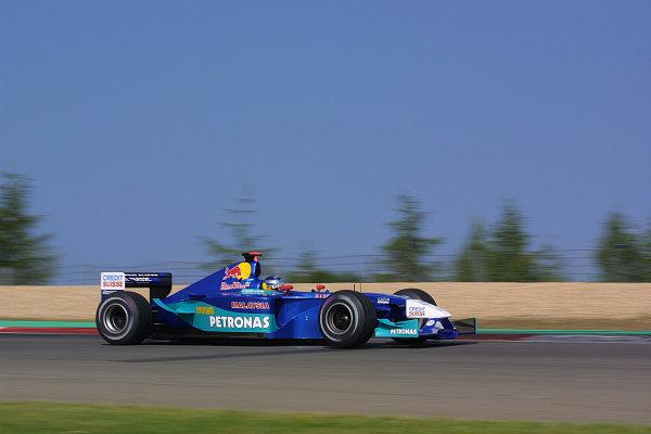 2002 European Grand Prix - Saturday QualifyingNurburgring, Germany. 22nd June 2002.World Copyright: LAT Photographic.ref: Digital Image Only