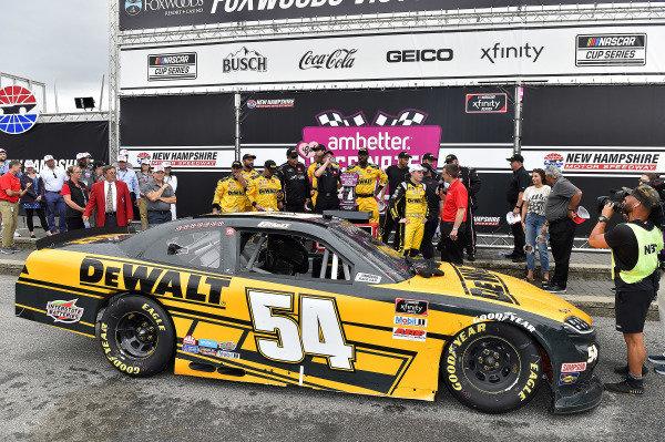 #54: Christopher Bell, Joe Gibbs Racing, Toyota Supra DEWALT wins
