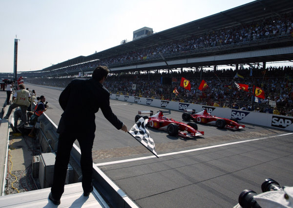 2002 USA Grand Prix - Race