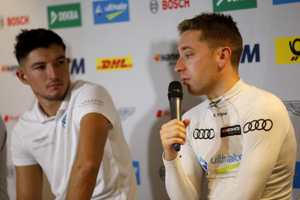 Press Conference, Jake Dennis, R-Motorsport, Robin Frijns, Audi Sport Team Abt Sportsline.