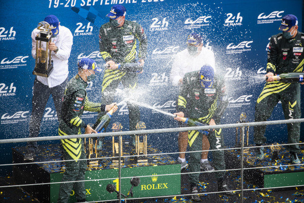 Aston Martin Racing, Aston Martin Vantage AMR: Alex Lynn, Maxime Martin, Harry Tincknell, wins the race