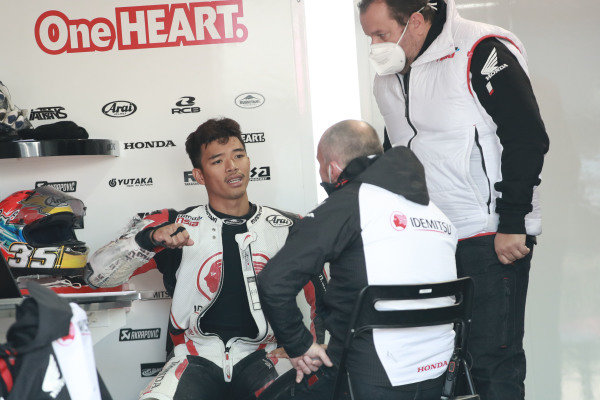Somkiat Chantra, Honda Team Asia.