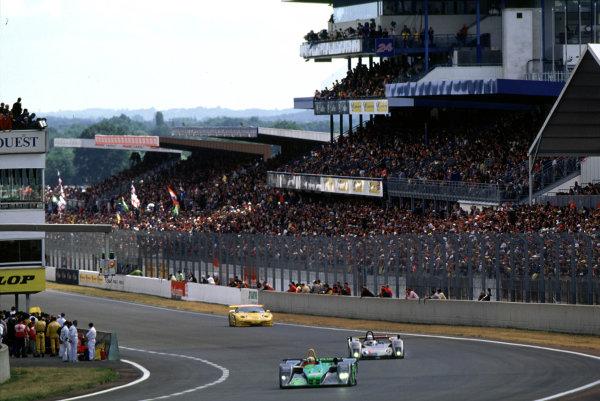 2001 Le Mans 24 Hours Le Mans, France. 16th - 17th June 2001 World Copyright - LAT Photographic ref: 01LM13.